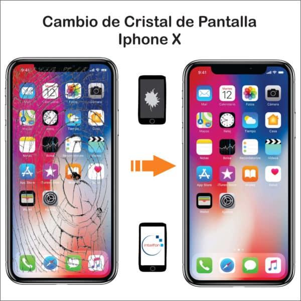 Protector de pantalla iPhone X en nuestra tienda. Disponemos de productos originales y servicio técnico de reparación móviles urgente. iPhone, Samsung, Xiaomi, Huawei, Apple watch, Smartwatch, etc